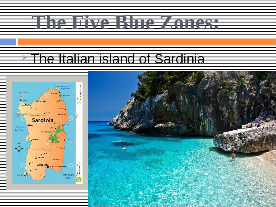 The Five Blue Zones: The Italian island of Sardinia