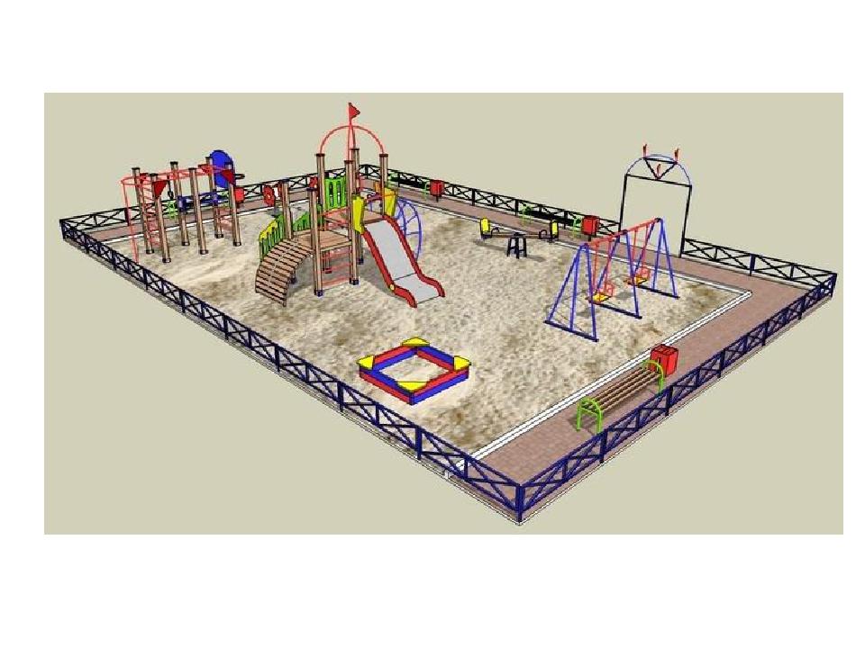 Детская площадка проект своими руками 45