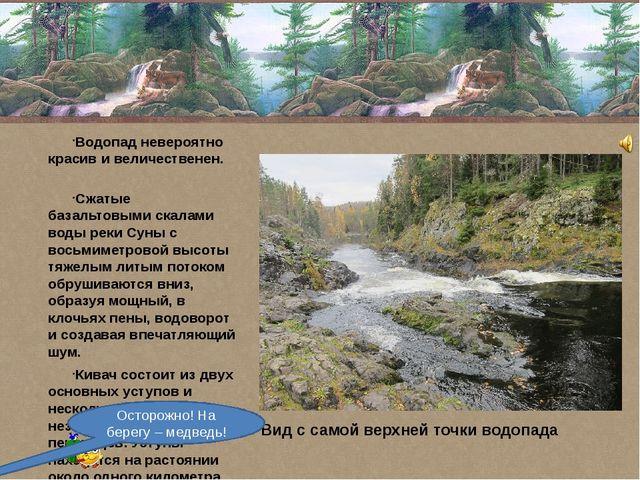 Водопад невероятно красив и величественен. Сжатые базальтовыми скалами воды...