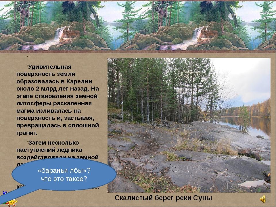 Удивительная поверхность земли образовалась в Карелии около 2 млрд лет наз...