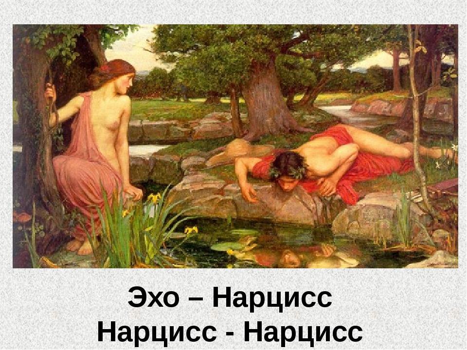 Эхо – Нарцисс Нарцисс - Нарцисс
