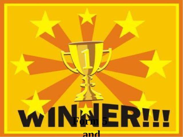 Form 5 and Yulia Alexeevna won 1. 000. 000 $ !!!!!!!!!!!!!!!!!!!!!