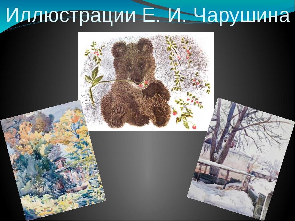 Иллюстрации Е. И. Чарушина