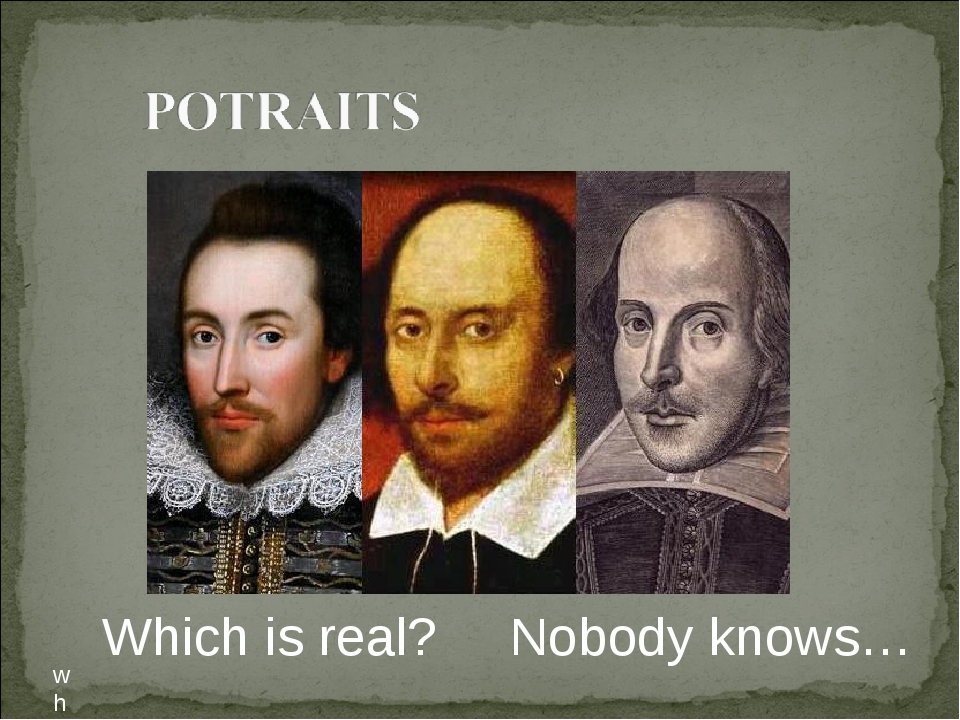 wh Which is real? Nobody knows…