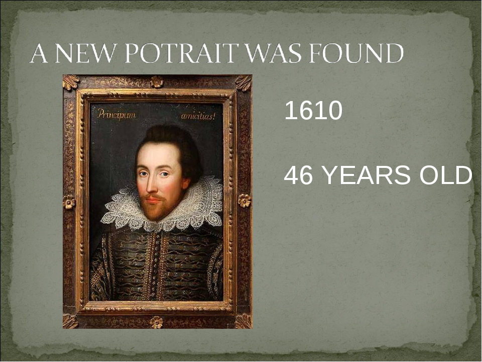 1610 46 YEARS OLD