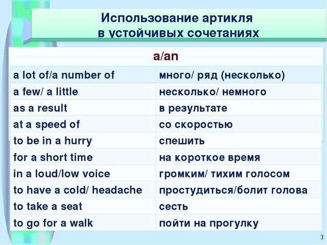 * a lot of/a number ofмного/ ряд (несколько) a few/ a littleнесколько/ немн...