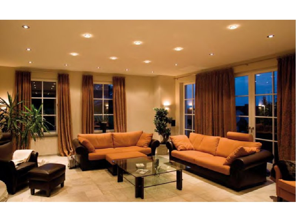 Дизайн комнаты с 4 окнами