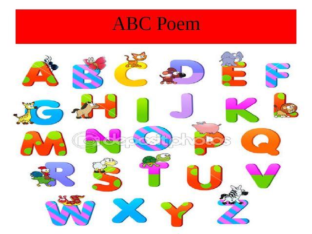 ABC Poem
