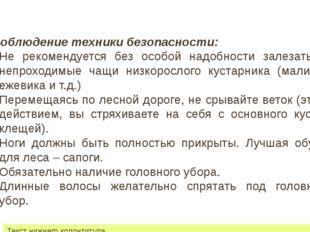 22 июля 2012 г. Текст нижнего колонтитула Соблюдение техники безопасности: Не