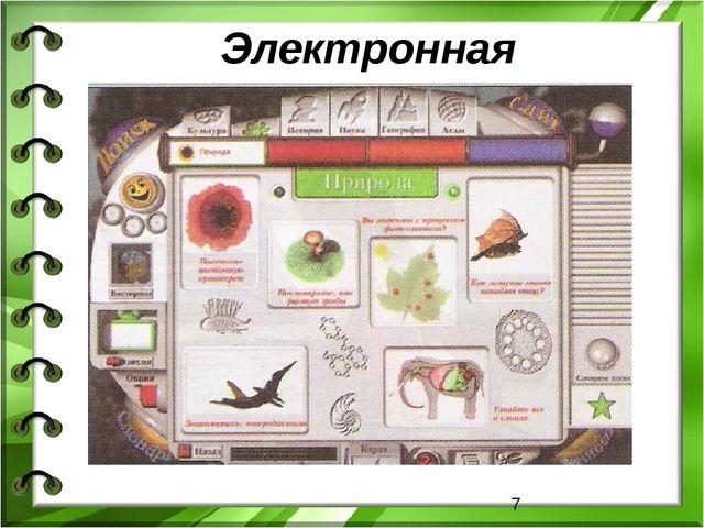 Электронная энциклопедия