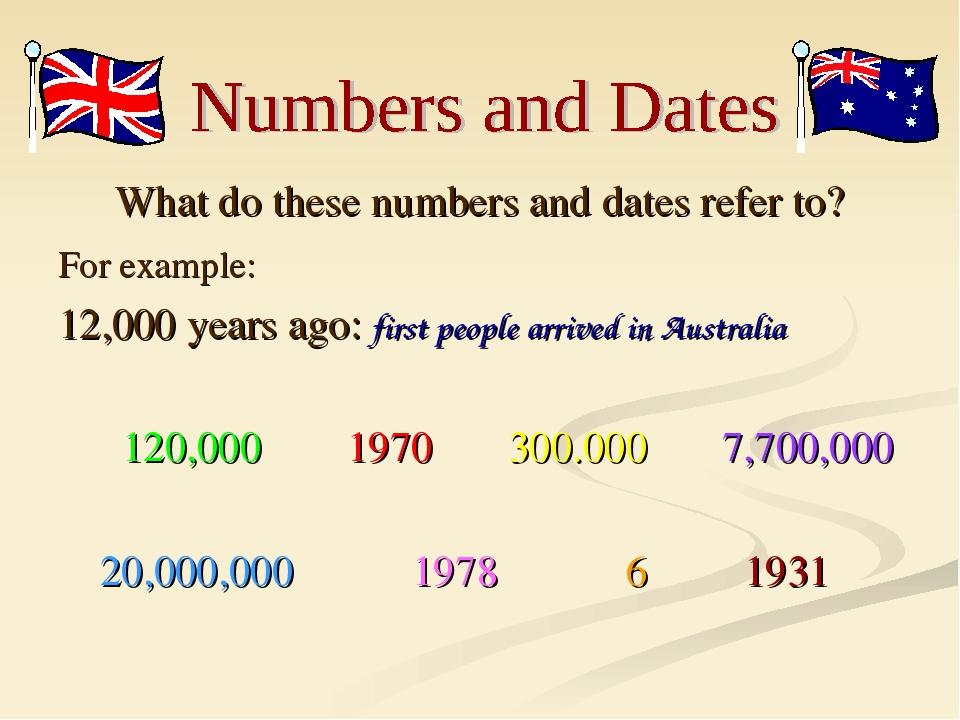 What do these numbers and dates refer to? For example: 12,000 years ago: firs...