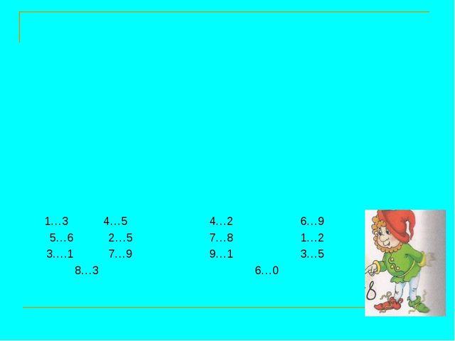 1…3 4…54…26…9 5…6 2…5 7…81…2 3….1 7…99…13…5 8…3 6…0