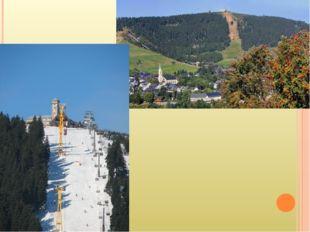 Fichttelberg Liegt in Nordbayern ist der hӧchste Berg im Erzgebirge vor 1989