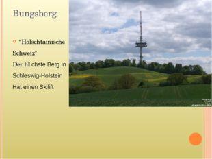 """Bungsberg """"Holschtainische Schweiz"""" Der hӧchste Berg in Schleswig-Holstein Ha"""