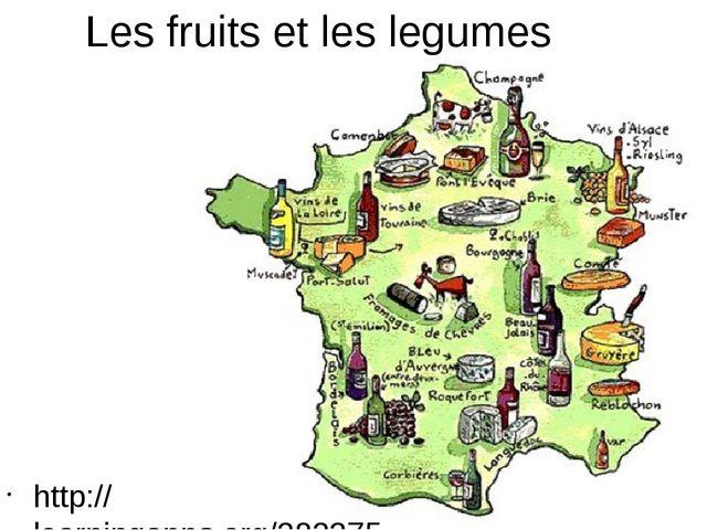 Les fruits et les legumes http://learningapps.org/282375