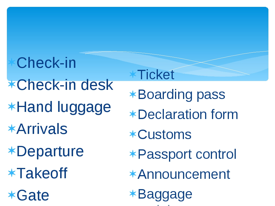 Check-in Check-in desk Hand luggage Arrivals Departure Takeoff Gate Ticket Bo...