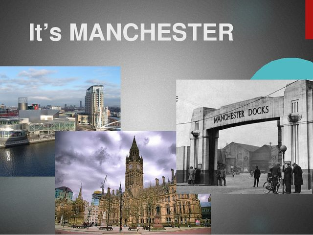 It's MANCHESTER