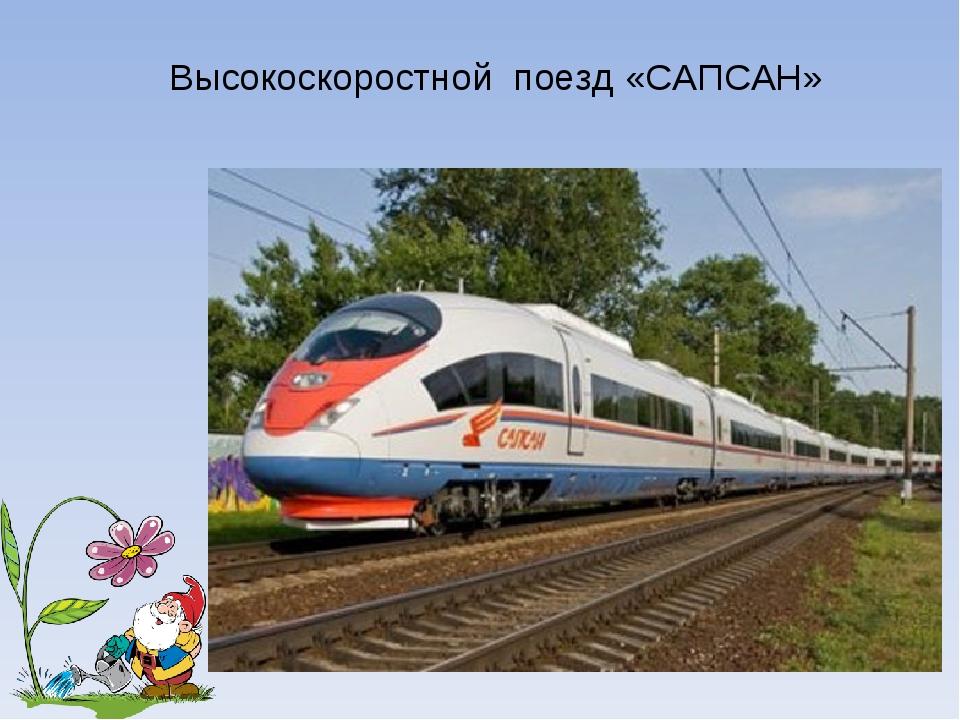 Высокоскоростной поезд «САПСАН» Лукяненко Э.А. МКОУ СОШ №256 г.Фокино