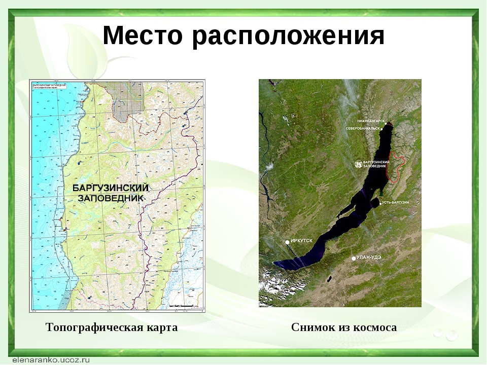 Место расположения Топографическая карта Снимок из космоса