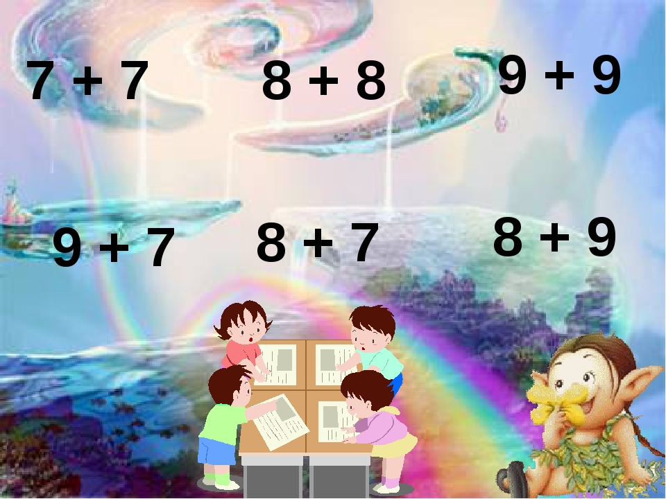 7 + 7 8 + 8 9 + 9 8 + 7 9 + 7 8 + 9