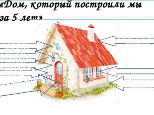 «Дом, который построили мы за 5 лет» Фундамент - мудрость 1. Кирпичик - пони