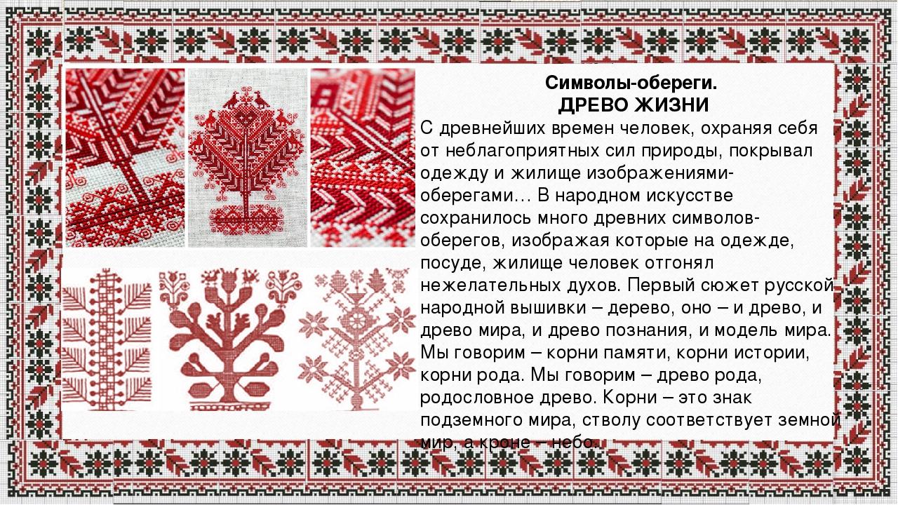 Вышивка и символика русского 50