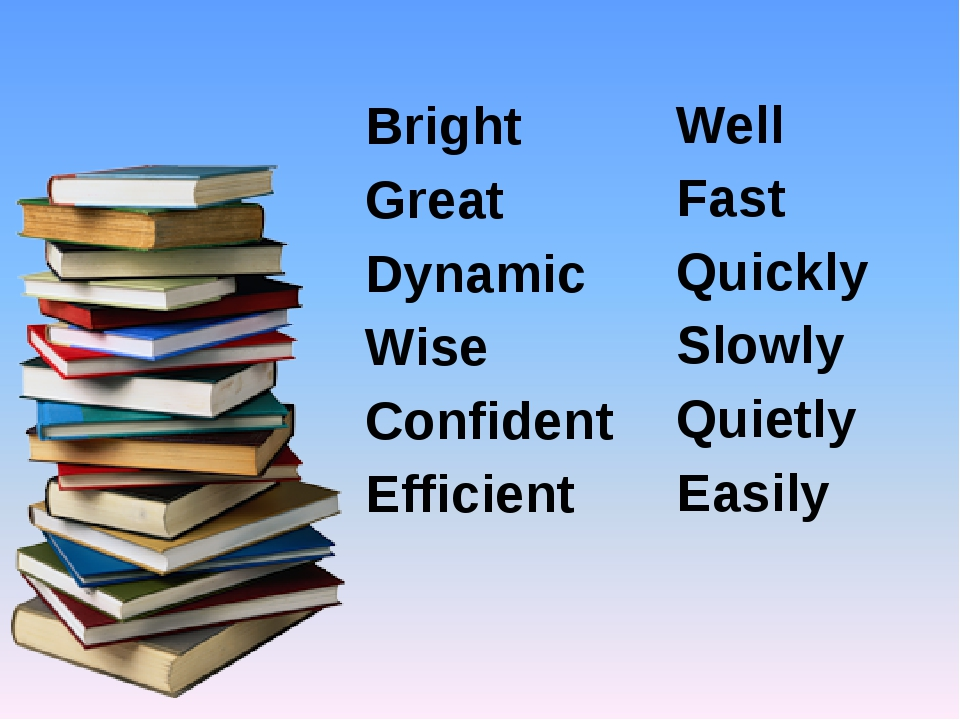Bright Great Dynamic Wise Confident Efficient Well Fast Quickly Slowly Quietl...