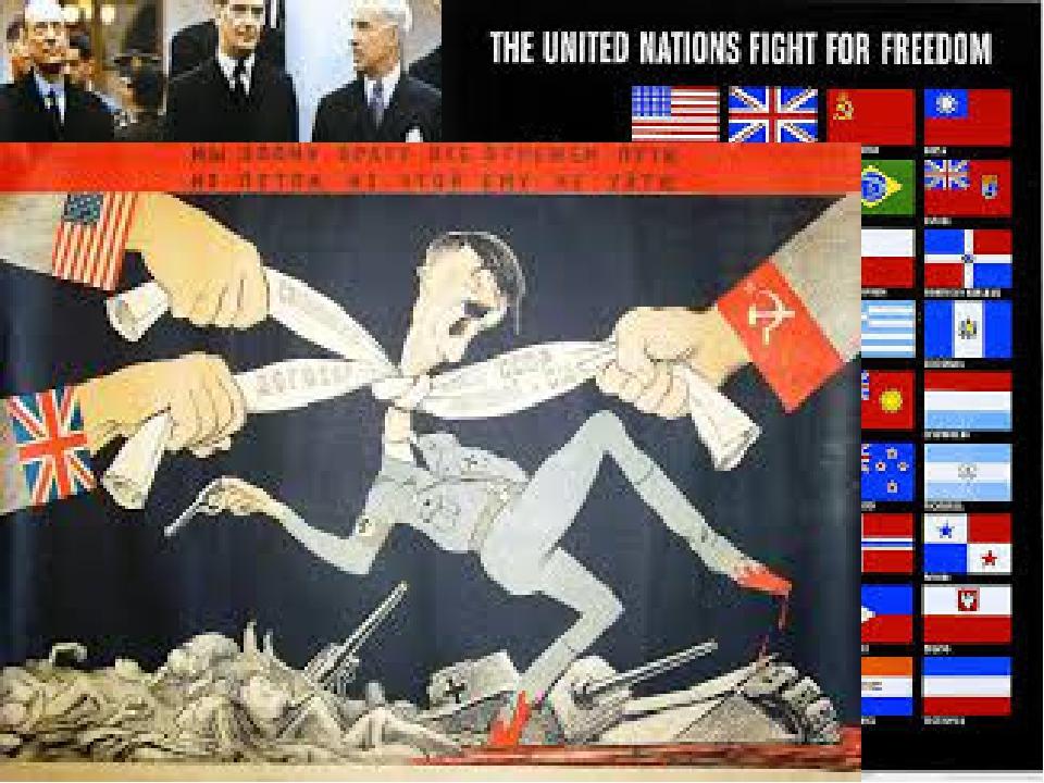 Создание антигитлеровской коалиции Антигитлеровская коалиция (Allies of World...