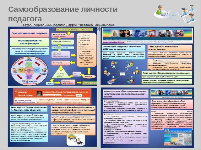 Самообразование личности педагога как фактор профессионального успеха Автор:...