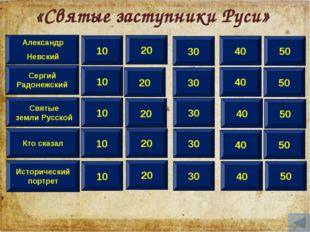 10 Сергий Радонежский Кто сказал Исторический портрет Александр Невский 20 30