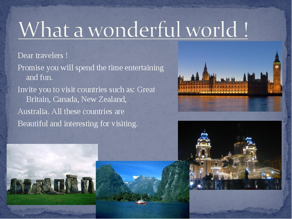 Dear travelers ! Promise you will spend the time entertaining and fun. Invite...