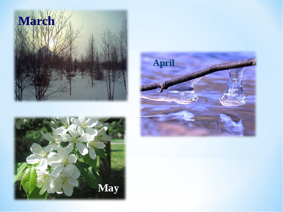 March April May