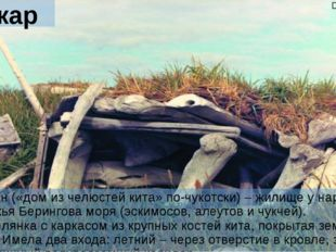 Валкаран Валкаран («дом из челюстей кита» по-чукотски) – жилище у народов поб
