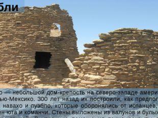 Пуэблито Пуэблито — небольшой дом-крепость на северо-западе американского шта