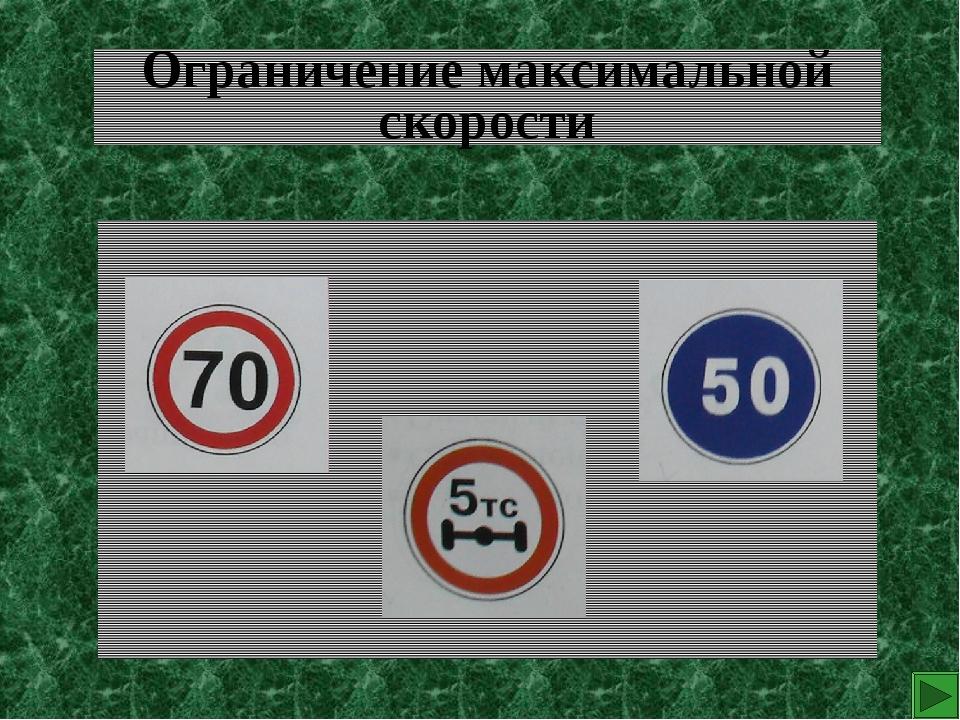 Ограничение максимальной скорости