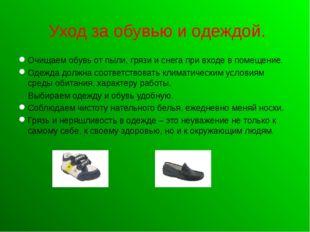 Уход за обувью и одеждой. Очищаем обувь от пыли, грязи и снега при входе в п
