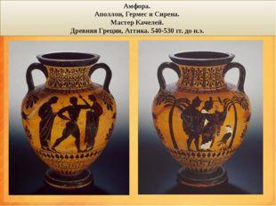 амфоры Амфора (лат. amphora, греч. ἁμφορεύς – несомый с двух сторон) – сосуд