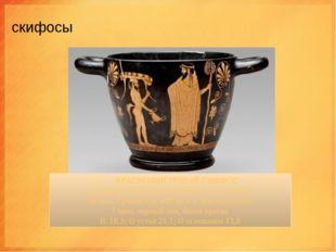 скифосы Скифос(σκύφος) представляет собой керамическую чашу для питья.