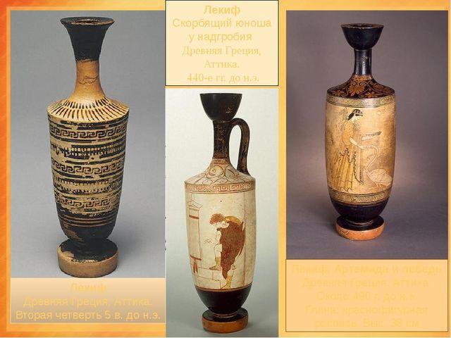 лекифы ЛЕКИФ- древнегреческий керамический сосуд для масла. Первоначально д...