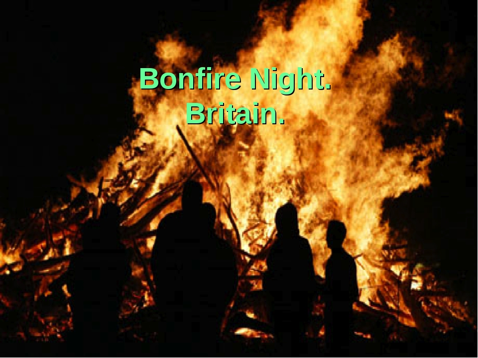 Bonfire Night. Britain.