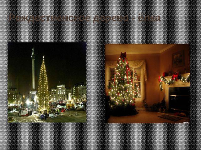 Рождественское дерево - ёлка