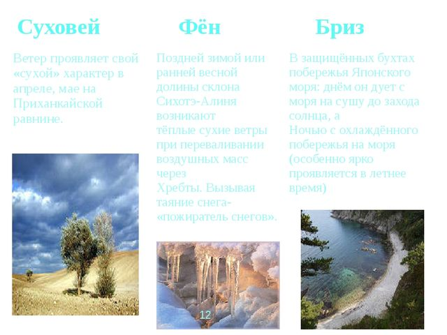 Суховей Фён Бриз Ветерпроявляет свой «сухой» характер в апреле, мае на Приха...