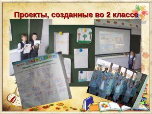 Проекты, созданные во 2 классе «Профессия моих родителей» Задача данного пр