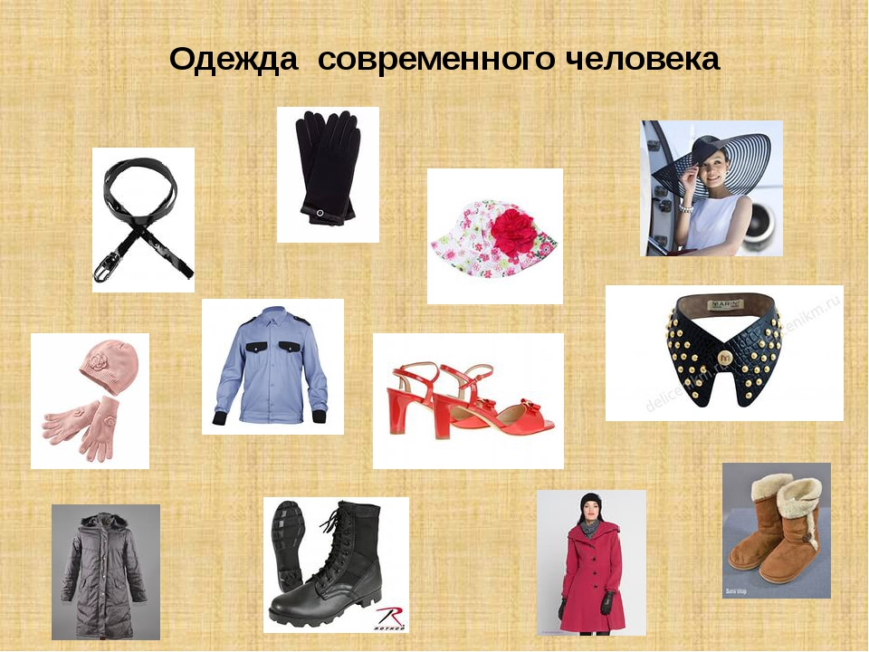 Одежда современного человека