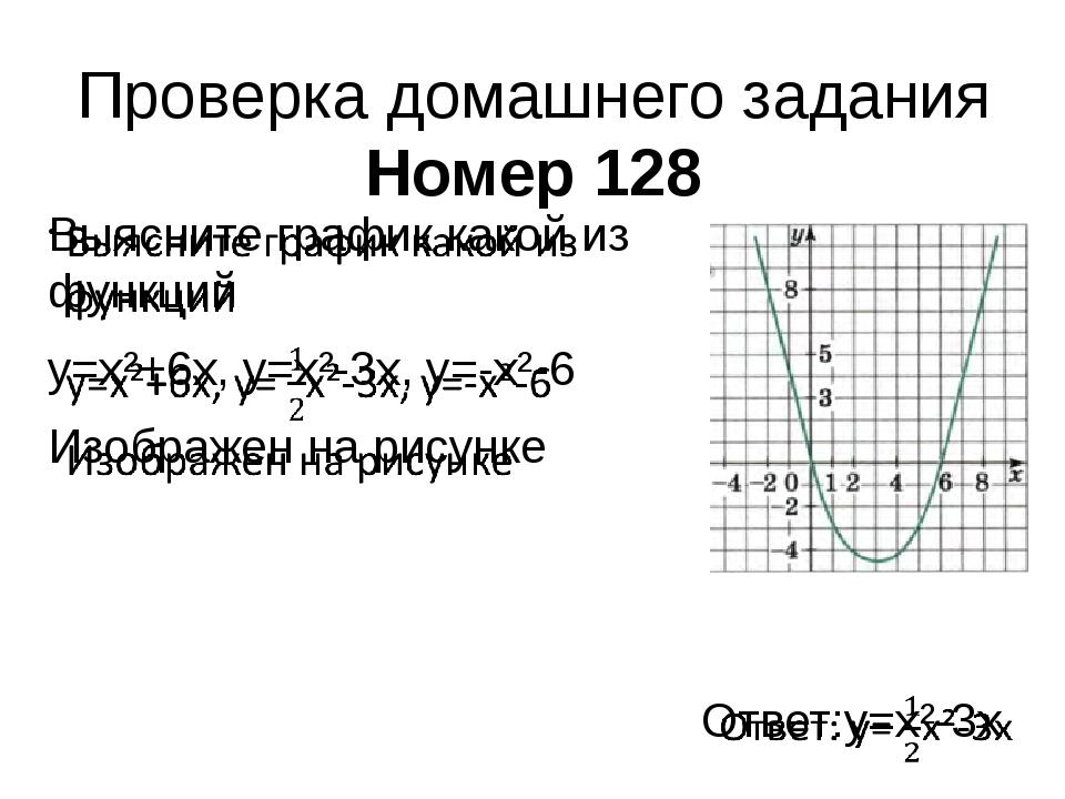 Проверка домашнего задания Номер 128