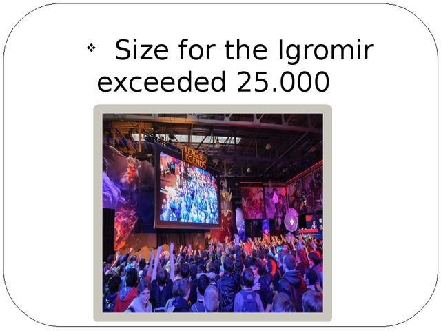 Size for the Igromir exceeded 25.000 sq.m.