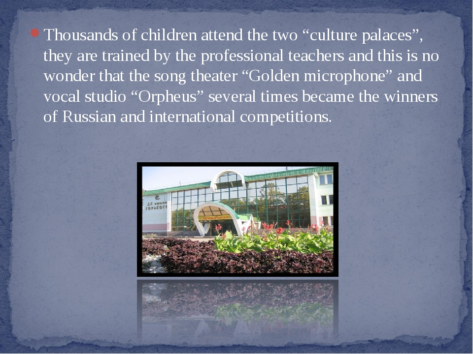 """Тhousands of children attend the two """"culture palaces"""", they are trained by t..."""