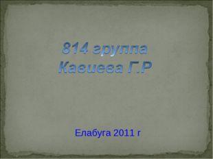 Елабуга 2011 г