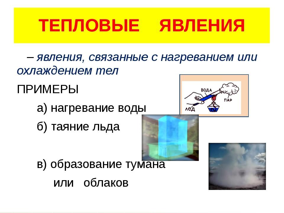 гдз по физике мини-опыты на тему тепловые явления