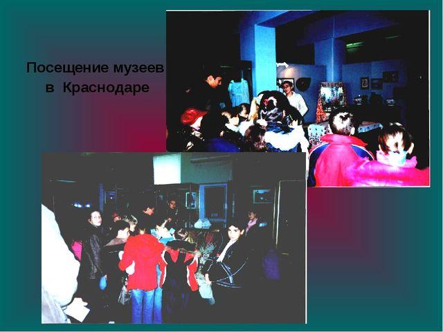 Посещение музеев в Краснодаре